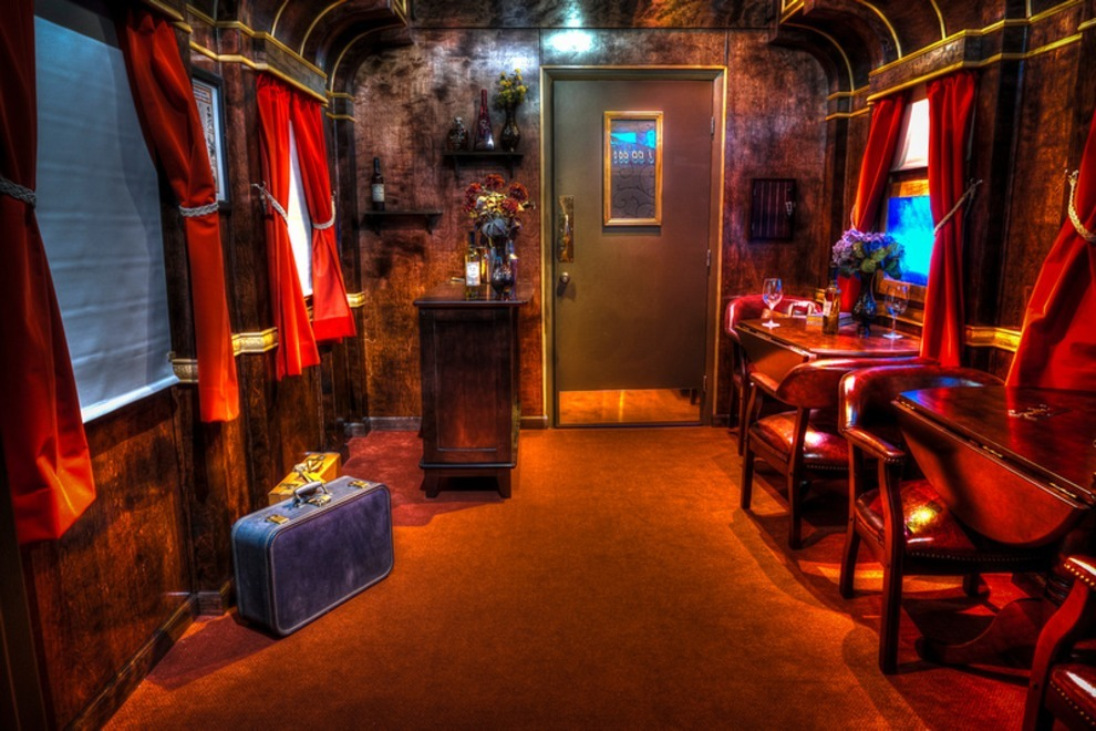 Review Escapology Budapest Express