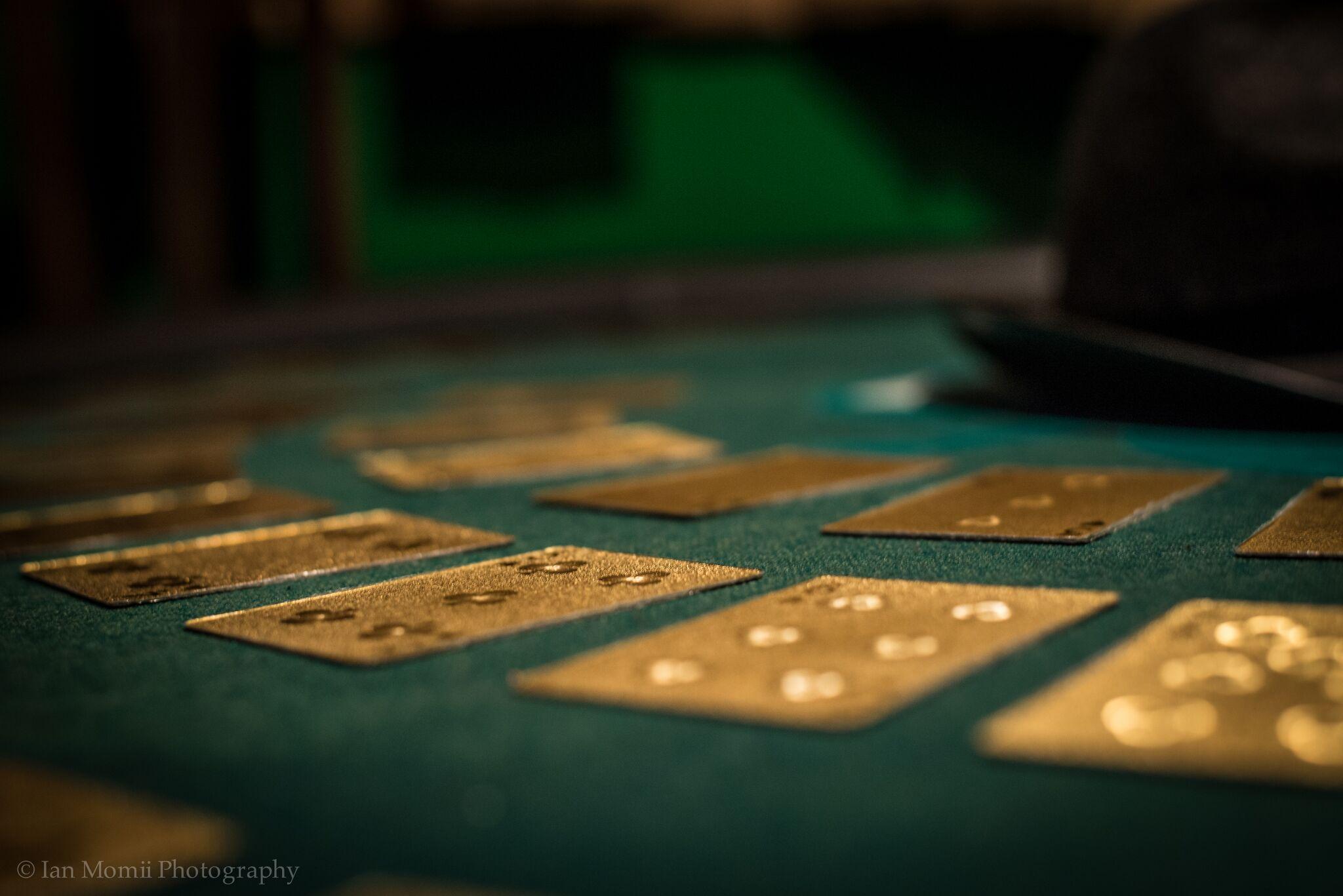 Vacuumed money casino heist gambling fallacy