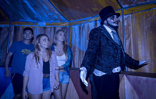 No One Knows When Or Where The Tents Will Rise, But All Who See Them Are  Drawn To Find Out What Lies Inside Circo Sinistro At Busch Gardens. The  Haunted ...