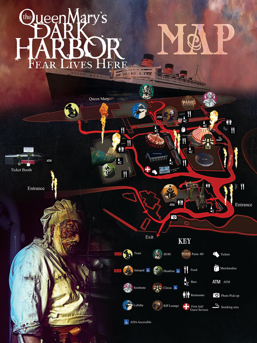 review: the queen mary's dark harbor 2017