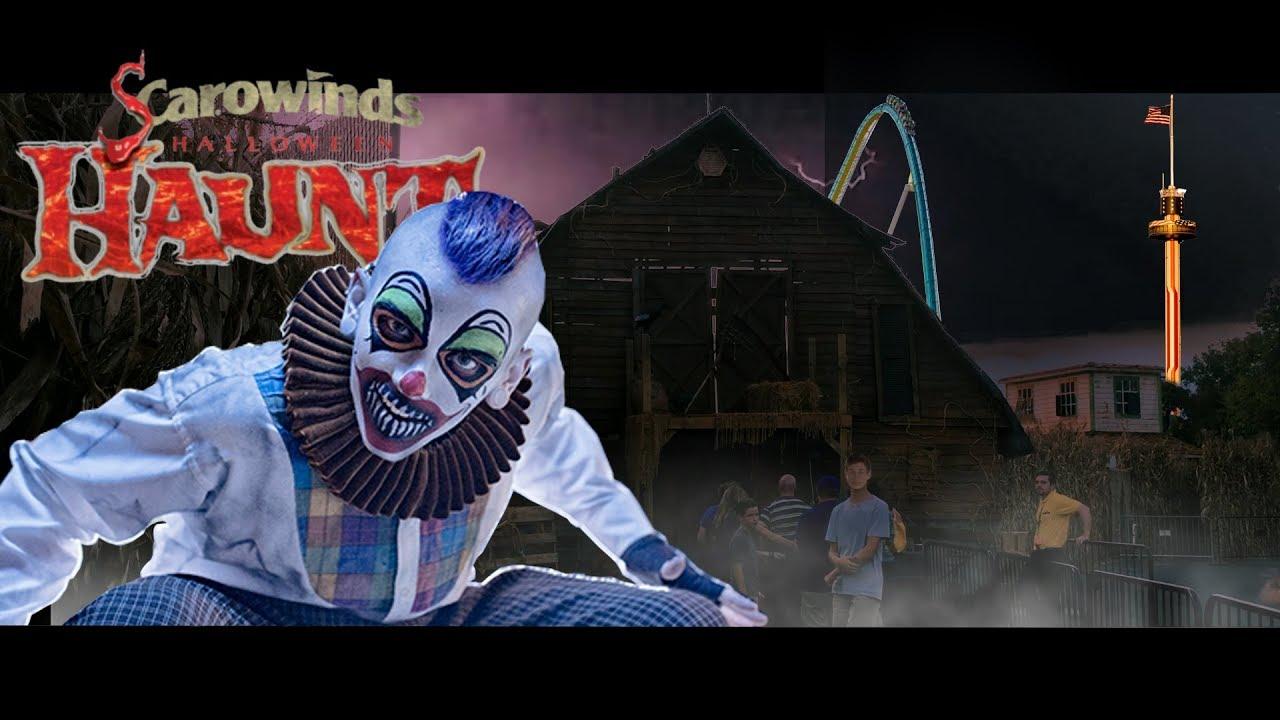 Scarowinds Haunted Houses