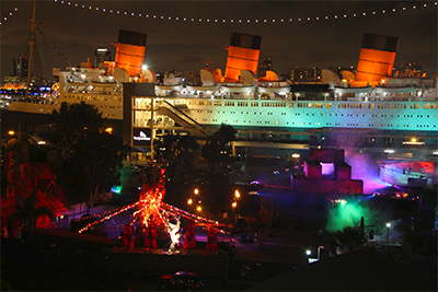 A Notoriously Haunted Nearly Century Old Cruise Liner Now Permanently Docked In The Long Beach Harbor Hosts One Of Most Chilling Effective And