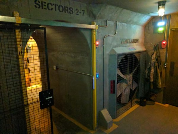 The Bunker at Escape Experience Chattanooga