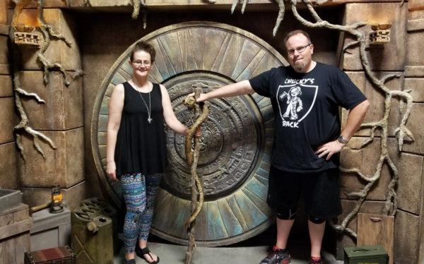 Mike and Maegen in Treasure of Pacari