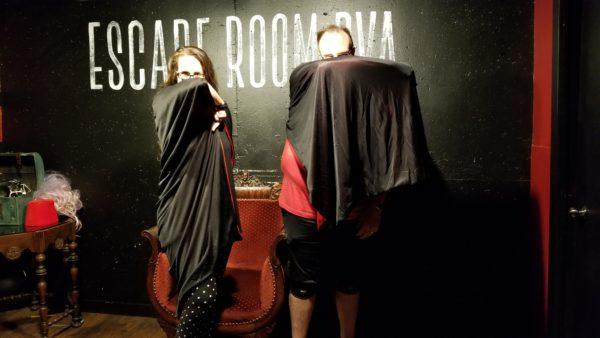 Maegen and Michale at Escape Room RVA