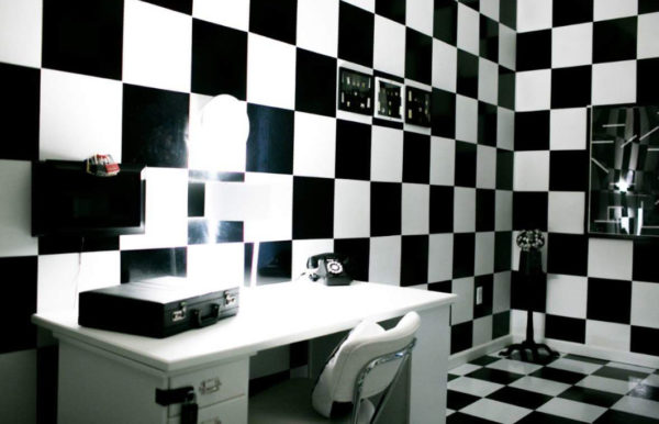 Ying and Yang room at Escape Artist near Charlotte, NC