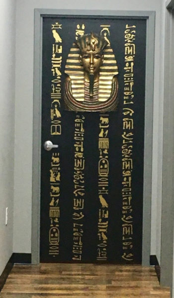The Pharaohs Chamber at Three Keys Escape Game