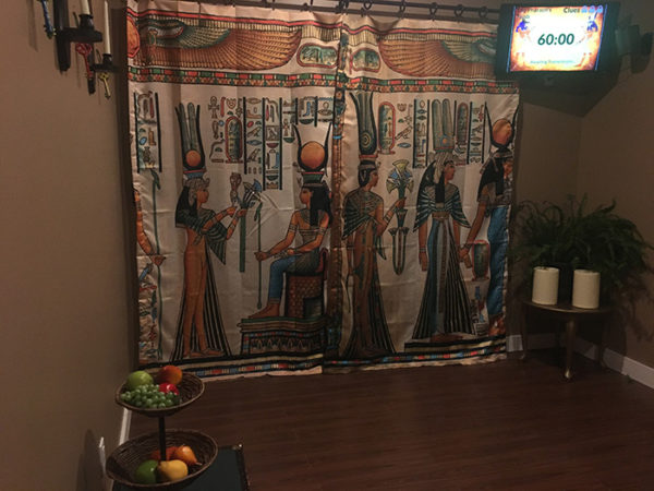 The Pharaoh's Tomb at The Door in Charlotte, NC