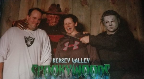 Michael and Maegen at Kersey Valley Spookywoods