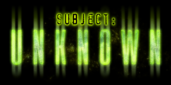 Subjecg: Unknown at Netherworld Haunted House