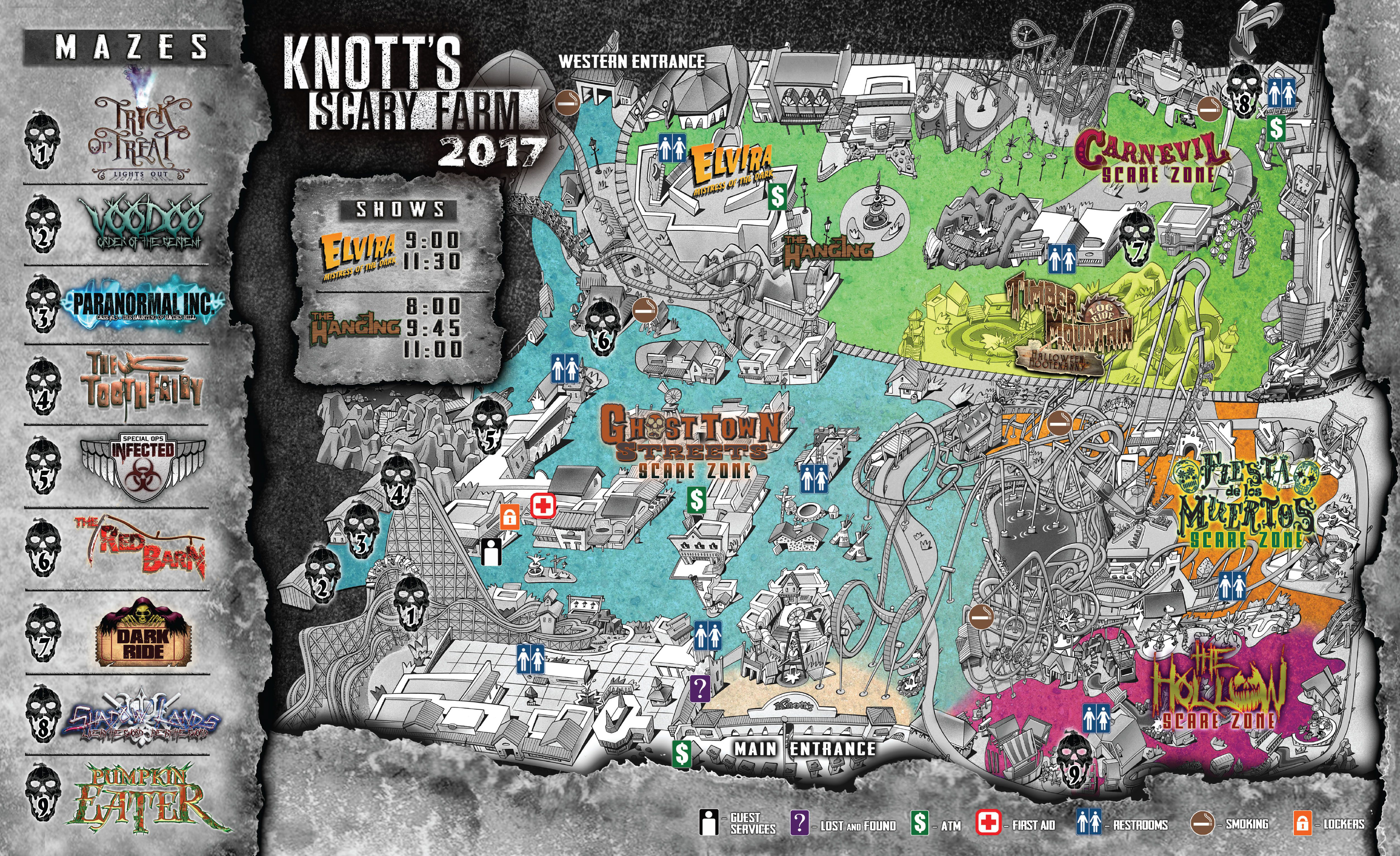 Review: Knott's Berry Farm - Knott's Scary Farm 2017 on